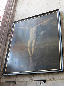 Photo du tableau « La Crucifixion » de Michel de Joncquoy