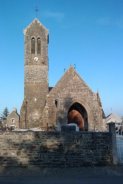 Église Notre-Dame de fr:Fleury (Manche)