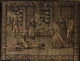 Saint Bonaventure faisant profession, Saint Bonaventure en prières, Saint Bonaventure enseignant, Saint Bonaventure recevant le chapeau de cardinal