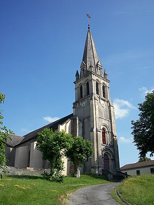 Orleix - The church of Orleix