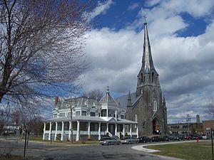 Saint-Joachim de Pointe-Claire Church - Saint-Joachim de Pointe-Claire Church and its presbytery