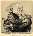 Émile Bergerat als Kandidat der Akademie, von Charles Léandre.png