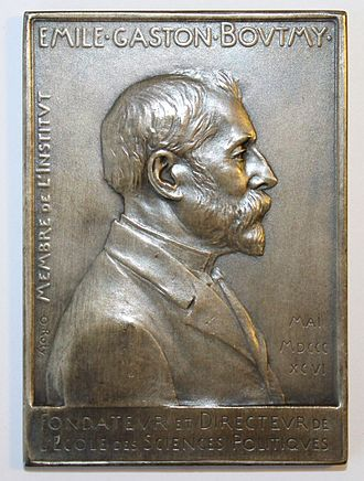 Émile Boutmy - Émile Boutmy by Louis-Oscar Roty