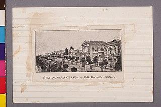 État de Minas Geraes - Bello Horizonte (Capitale)