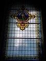 Ólomüveg ablak, Budai kapucinus templom, 2016 Várkerület.jpg