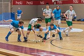 Österreichische Hallenhockeyliga D 2018 HC Wels vs AHTC-3809.jpg
