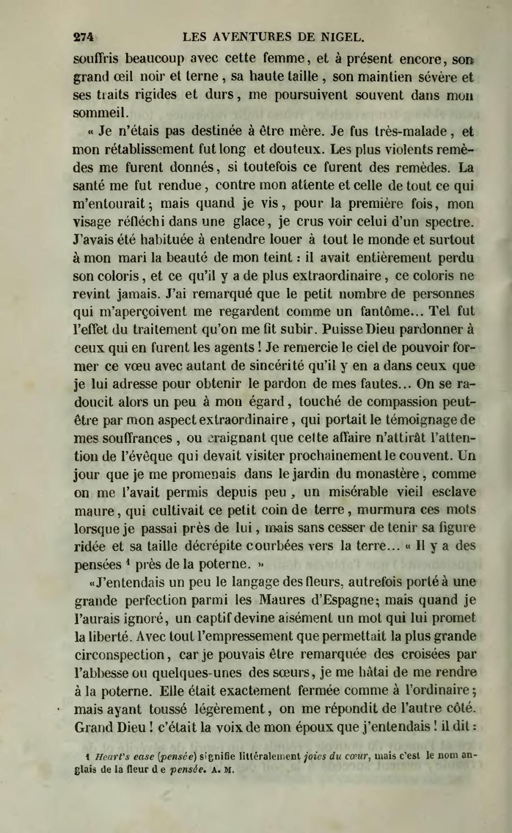 Page œuvres De Walter Scott Menard Traduction Montemont Tome 17