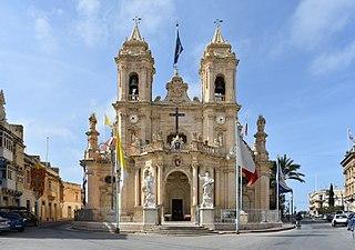 Parish Church of Our Lady of Graces, Żabbar Church in Żabbar, Malta