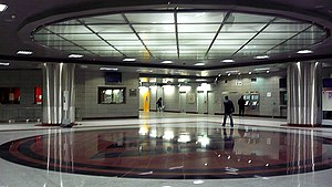 Greek: Η παρούσα απεικονίζει το Σταθμό του Μετ...