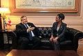 Συνάντηση Αντιπροέδρου Κυβέρνησης και ΥΠΕΞ Ευ. Βενιζέλου με την πρώην Γενική Κυβερνήτη του Καναδά κα Michaëlle Jean (10691927895).jpg