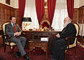 Συνάντηση ΥΠΕΞ κ. Δρούτσα με το Mακαριώτατο Αρχιεπίσκοπο Αθηνών και Πάσης Ελλάδος κ.Ιερώνυμο. (5372899447).jpg
