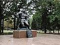 Братська могила партизан громадянської війни 1919р., радянських воїнів 1943р. 02.jpg