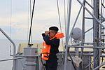 В українських ВМС після 7-річної перерви відновлено катерну практику майбутніх офіцерів із заходами до іноземних портів (30044137641).jpg