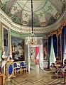 Гау. Овальная комната за Чесменской галереей. 1877.jpg