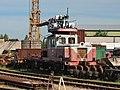 ДГКу-1079, Литва, Вильнюс, подъездной путь от станции Панеряй (Trainpix 166786).jpg