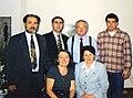 Дети и внук Заки Валиди Тоган с писателями из Башкортостана. Анкара. 1997.jpg