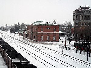 Lev Tolstoy (rural locality) - Lev Tolstoy railway station