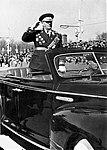 Маршал Советского Союза А. И. Ерёменко на первомайском параде. Кадр 1.jpg