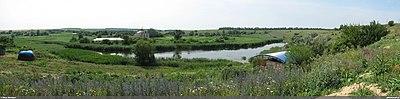 Панорама возле источника в Коньково 01.jpg