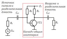 Схема с оэ коэффициент