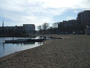 Kurortny District - A beach in Sestroretsk, Kurortny District