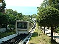 Сочи. ЦВС. Вагончик фуникулера - 07-10-2002г. - panoramio.jpg