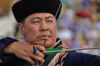 Balzhinima Tsyrempilov - Olympic archer Tsyrempilov