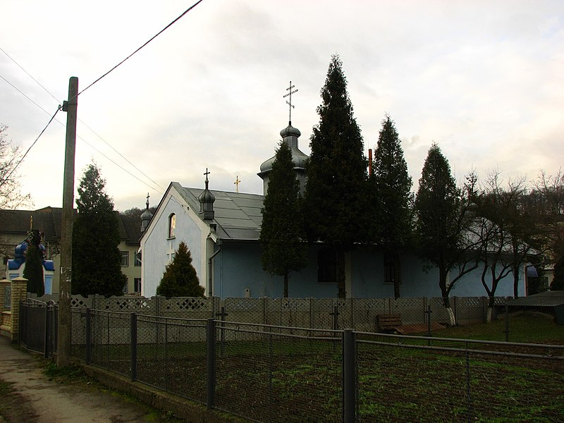 File:Храм святого Володимира Великого УАПЦ. - panoramio (3).jpg