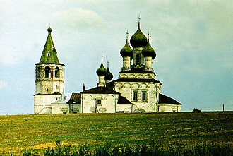 Pomors - A 17th-century Pomor church near Kholmogory