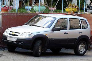 Chevrolet Niva - Image: Шевроле Нива 2015 год