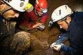אנשי רשות העתיקות ומועדון המערנות בחיפוש במערת נטיפים בצפון ישראל.jpg