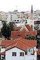 המושבה האמריקאית ביפו - גגות אדומים והצריח של כנסיית עמנואל.jpg
