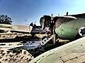 מטוס חיל האוויר במצפה רביבים.jpg
