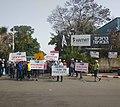 עובדי חרסה מפגינים מול משרדי חברת האם חמת באשדוד.jpg