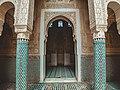 المدرسة المرينية (سلا) باب المسجد.jpg
