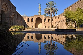 Baghdad - Courtyard of Mustansiriya madrasa, established by Al-Mustansir in 1227