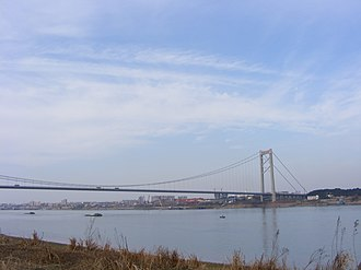 Xinzhou District, Wuhan - Yangluo Yangtze River Bridge