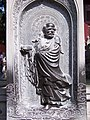 达摩祖师,Darhma Monk - Founder of Shaolin Temple and Zen Buddhism - panoramio.jpg