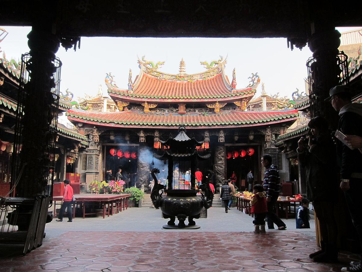 鹿港天后宮廟景