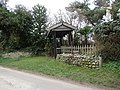 -2019-02-20 Front gate to Applewell cottage, Wright's Loke, Trunch.JPG