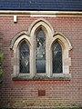 -2020-12-28 Window, south facing elevation, Cromer town cemetery chapel, Cromer, Norfolk (2).JPG