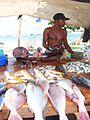 000181 Singhalesischer Fischverkäufer in der Stadt Galle (2012).JPG