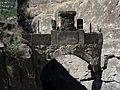 004 Arc del pas de la Foradada, accés al monestir Sant Miquel del Fai.JPG