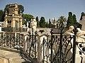 009 Cementiri, amb el mausoleu del marquès de Robert.jpg
