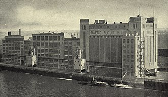 Baltic Centre for Contemporary Art - The mill in 1950