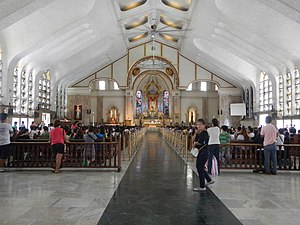 Quiapo Church - Church interior