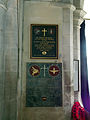 029 Stoke Rochford Ss Andrew & Mary, interior - tower arch war memorial.jpg