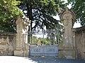039 Can Balet, o Vil·la Matilde (Premià de Dalt), portal del recinte, riera de Sant Pere 56-58.jpg