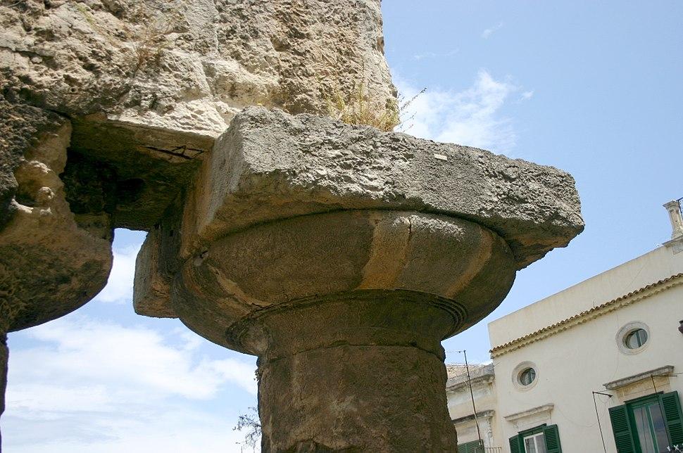 0422 - Siracusa - Tempio di Apollo - Foto Giovanni Dall'Orto - 21-May-2008