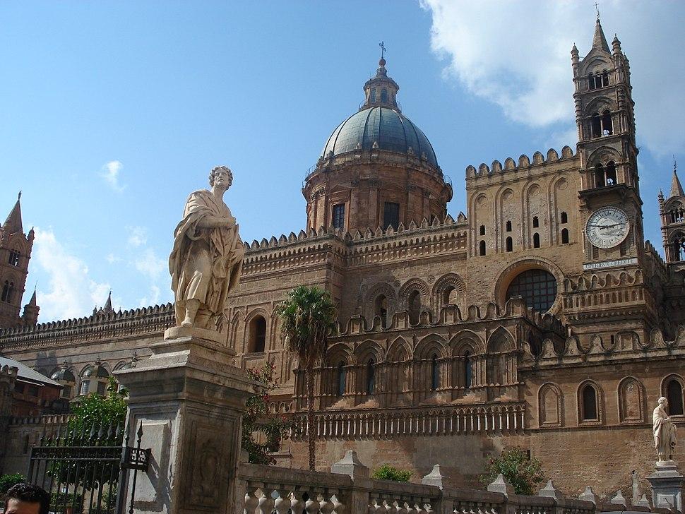0482 - Palermo - Cattedrale - Foto Giovanni Dall'Orto 28-Sept-2006